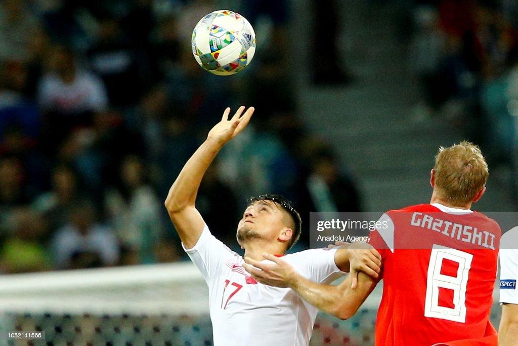 Russia vs Turkey - UEFA Nations League : News Photo
