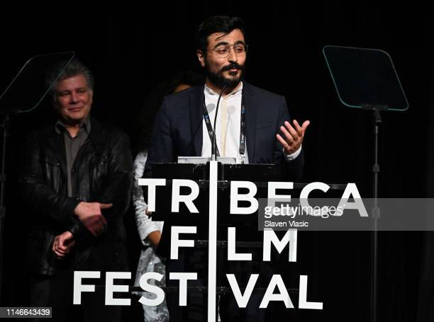 Cenk Erturk attends Awards Night - 2019 Tribeca Film Festival at BMCC Tribeca PAC on May 02, 2019 in New York City.