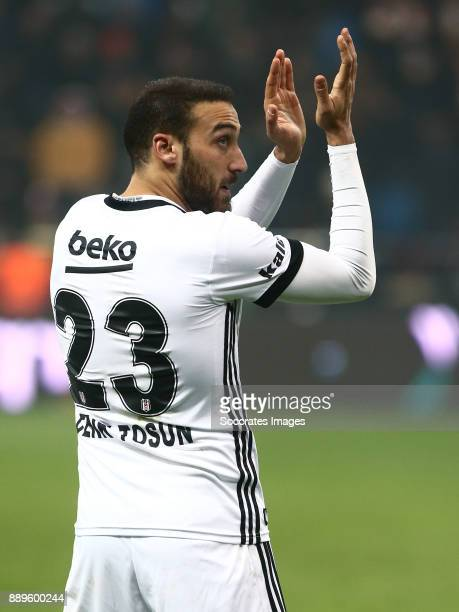 Cenk Tosun of Besiktas during the Turkish Super lig match between Kayserispor v Besiktas at the Kayseri Kadir Hasstadion on December 10 2017 in...
