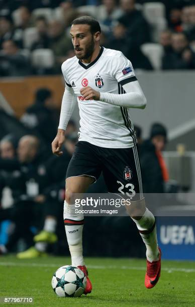 Cenk Tosun of Besiktas during the UEFA Champions League match between Besiktas v FC Porto at the Vodafone Park on November 21 2017 in Istanbul Turkey