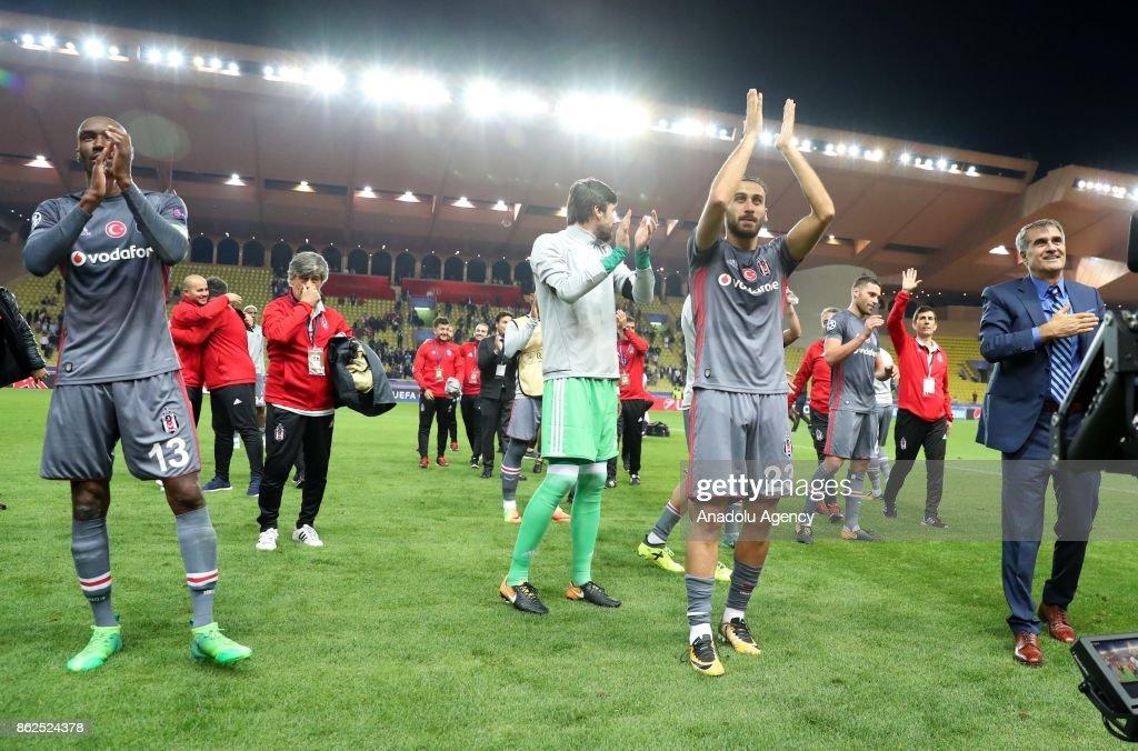 UEFA Champions League Group G: AS Monaco vs Besiktas : News Photo