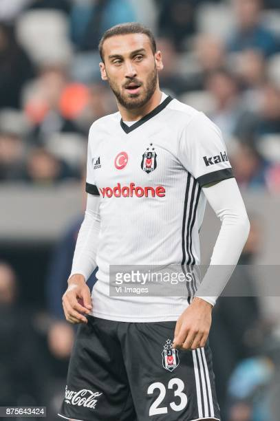 Cenk Tosun of Besiktas JK during the Turkish Spor Toto Super Lig football match between Besiktas JK and Teleset Mobilya Akhisarspor on November 17...