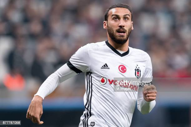 Cenk Tosun of Besiktas JK during the UEFA Champions League group G match between Besiktas JK and FC Porto on November 21 2017 at the Vodafone Arena...