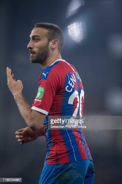 Cenk Tosun of Crystal Palace during the Premier League match between Crystal Palace and Southampton FC at Selhurst Park on January 21 2020 in London...