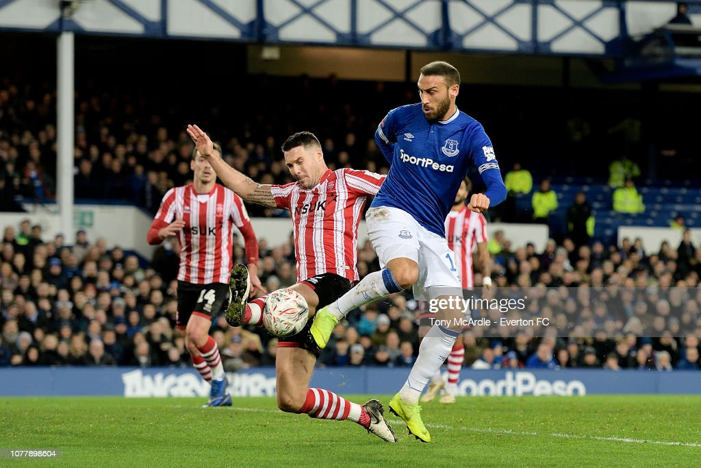 Everton v Lincoln City - Emirates FA Cup Third Round : News Photo
