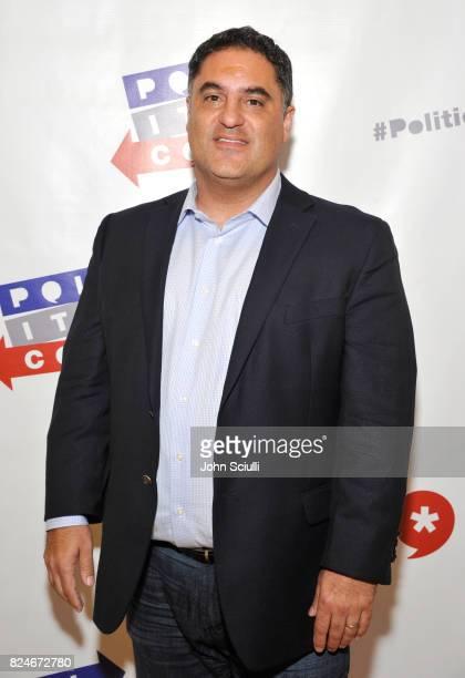 Cenk Uygur at Politicon at Pasadena Convention Center on July 30 2017 in Pasadena California
