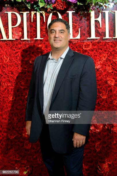 Cenk Uygur attends the Capitol File White House Correspondents' Weekend Kickoff Celebration at The Kreeger Museum on April 27 2018 in Washington DC