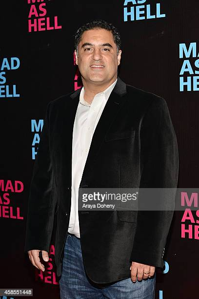 Cenk Uygur attends the The Young Turks Documentary Mad as Hell Los Angeles Premiere at Harmony Gold Theatre on November 6 2014 in Los Angeles...
