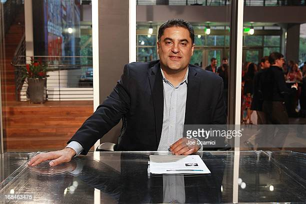 Cenk Uygur attends the Young Turks celebration of 1 billion views at YouTube LA on May 9 2013 in Playa Vista California