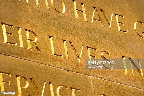 cenotaph - 飾り板 ストックフォトと画像