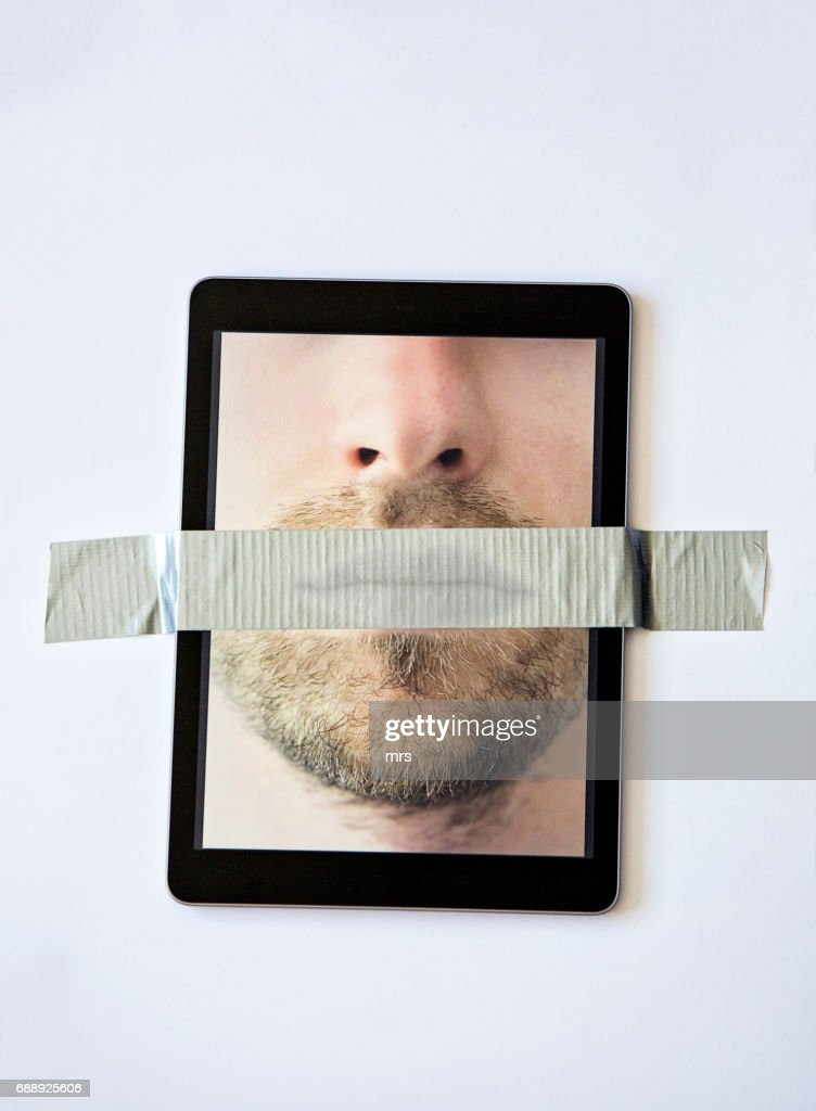 Censorship : Stock Photo