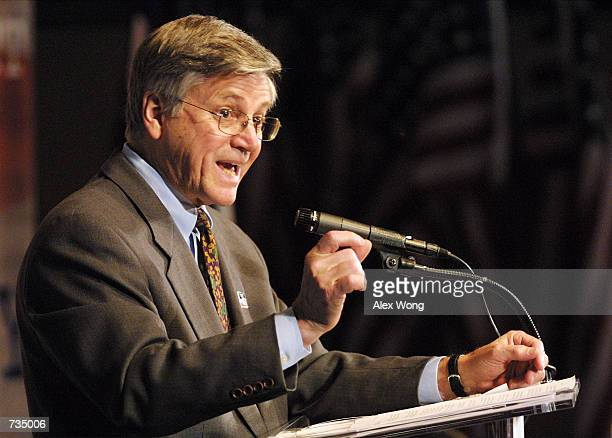 Census Bureau Director Kenneth Prewitt speaks during a news conference December 28 2000 in Washington DC during the release of the first set of...