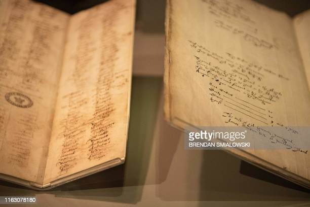 A census of Virginia and a muster showing Angela's the first documented African woman to arrive in the Virginia Colony and become a slave are on loan...