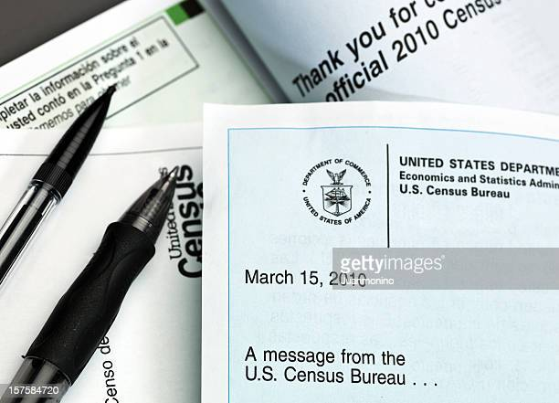 US 2010 Census Paperwork