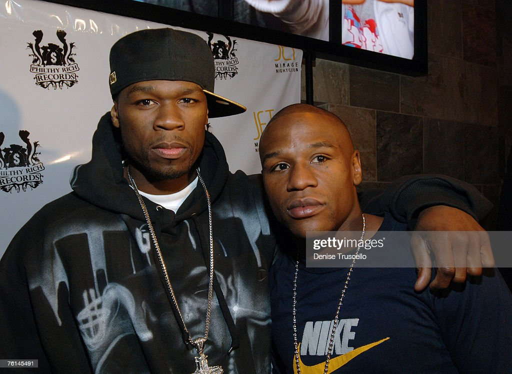 50 Cent and Floyd Mayweather Jr.