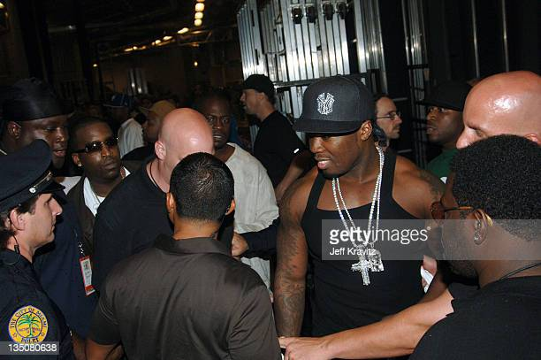 50 Cent and GUnit **Exclusive Coverage** during 2005 MTV Video Music Awards Audience and Backstage at American Airlines Arena in Miami Florida United...