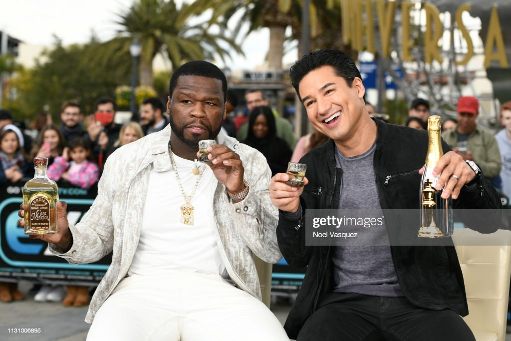 CA: 50 Cent And TNT Boys Visit Extra