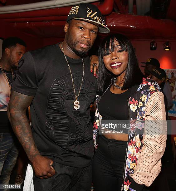 Cent and Tink at Best Buy Theater on June 30 2015 in New York City