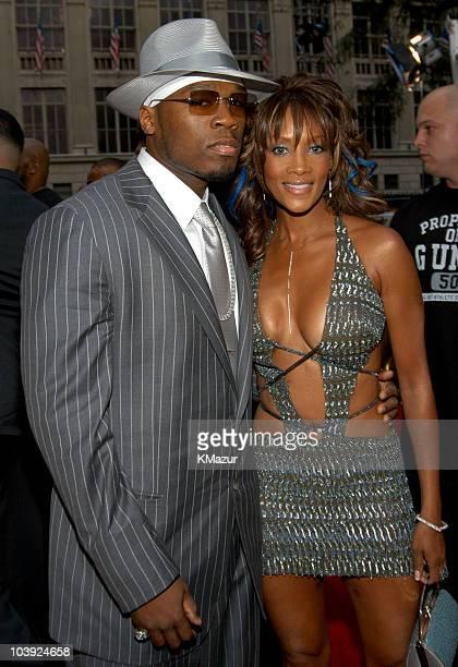 50 Cent and Vivica A Fox