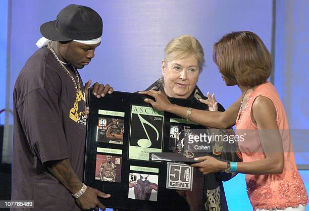 50 Cent ASCAP Songwriter of the Year ASCAP's Marilyn Bergman and Jeanie Weems