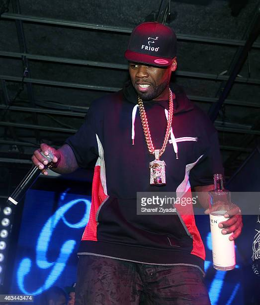 Cent at FINALE Nightclub on February 13 2015 in New York City