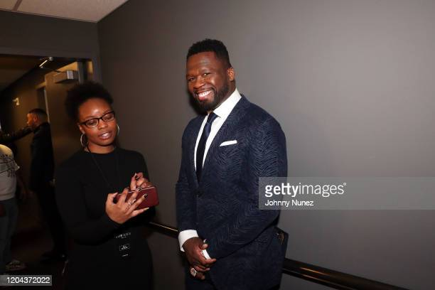 Cent attends ABC's For Life New York Premiere at Alice Tully Hall Lincoln Center on February 05 2020 in New York City