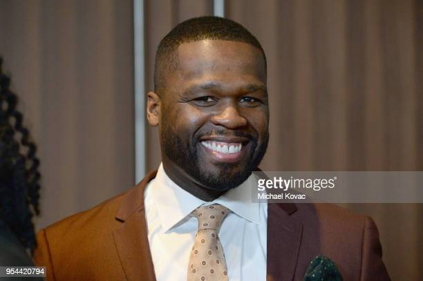 Cent attends STARZ 'POWER' FYC Event at The Jeremy Hotel on May 3 2018 in West Hollywood California