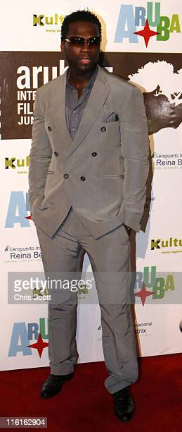 Cent attends the premiere of 'Things Fall Apart' at the Aruba Film Festival on June 14 2011 in Aruba Aruba