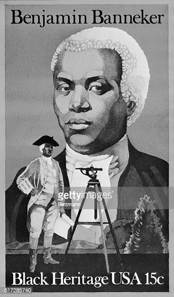 A 15 cent commemorative stamp honoring astronomer and mathematician Benjamin Banneker will be issued 2/15 in Annapolis Maryland during the nationwide...