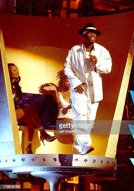 50 Cent during 2003 MTV Video Music Awards Show at Radio City Music Hall in New York City New York United States