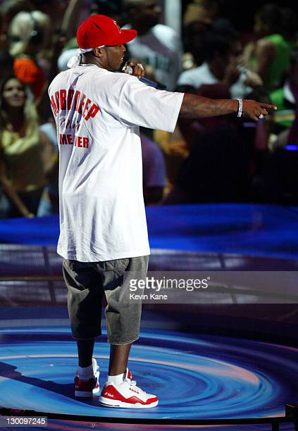 50 Cent during 2005 MTV Video Music Awards Rehearsals Day 2 at American Airlines Arena in Miami Florida United States
