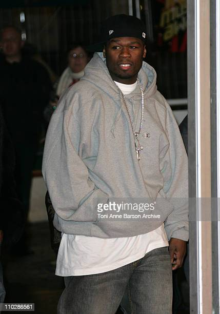 50 Cent during 2006 NRJ Music Awards Arrivals at Palais des Festivals in Cannes France