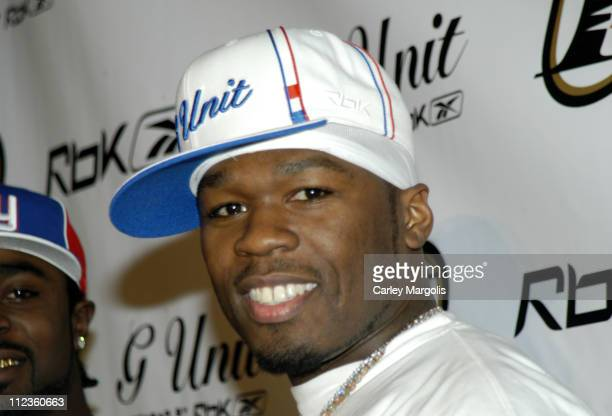 50 Cent during 50 Cent and Reebok Host Launch Party to Debut Answer 7 and G6 Footwear at Capitale in New York City New York United States