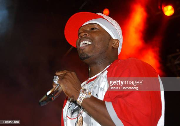 50 Cent during Hot 97 Summer Jam 2004 at Giants Stadium in East Rutherford New Jersey United States