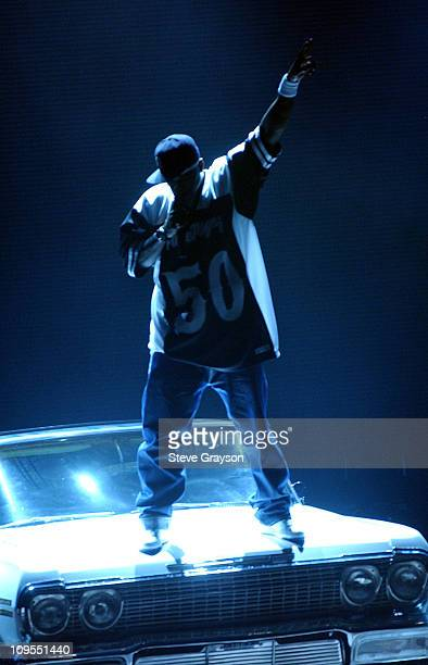 50 Cent during The 3rd Annual BET Awards Rehearsals Day Two at The Kodak Theater in Hollywood California United States