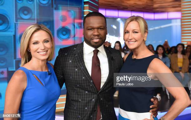 Cent is a guest on 'Good Morning America' Tuesday August 29 2017 airing on the ABC Television Network AMY