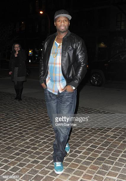 Cent is seen on November 16 2014 in New York City