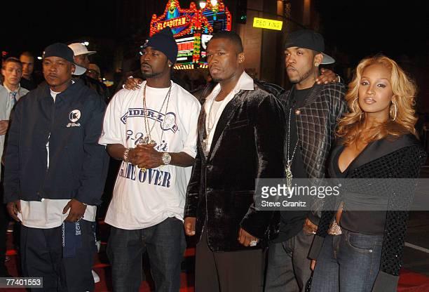 50 Cent Lloyd Banks Olivia and members of GUnit