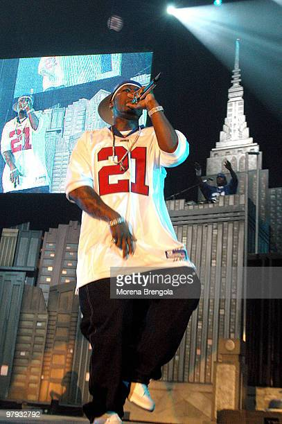 Cent performs at Datch forum on September 23 2003 in Milan Italy