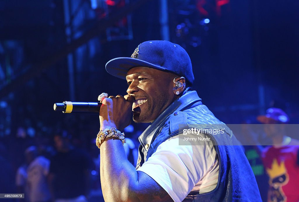 50 Cent performs in concert during Hot 97 Summer Jam 2014 at MetLife Stadium on June 1, 2014 in East Rutherford City.