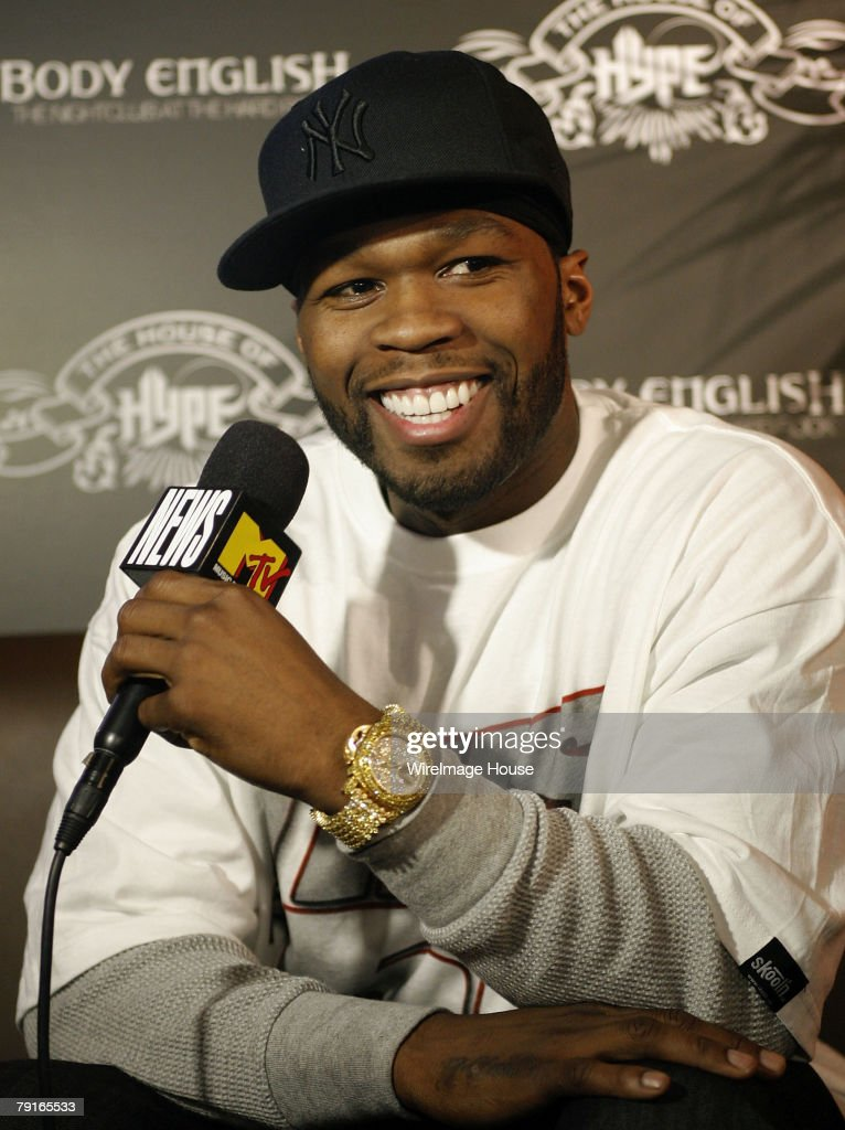 2008 Park City - 50 Cent Press Conference at The Hard Rock Hotels