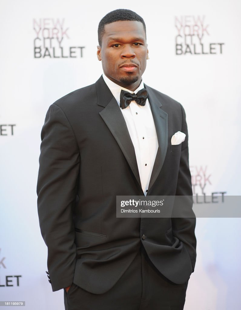 50 Cent ttends New York City Ballet 2013 Fall Gala at David H. Koch Theater, Lincoln Center on September 19, 2013 in New York City.