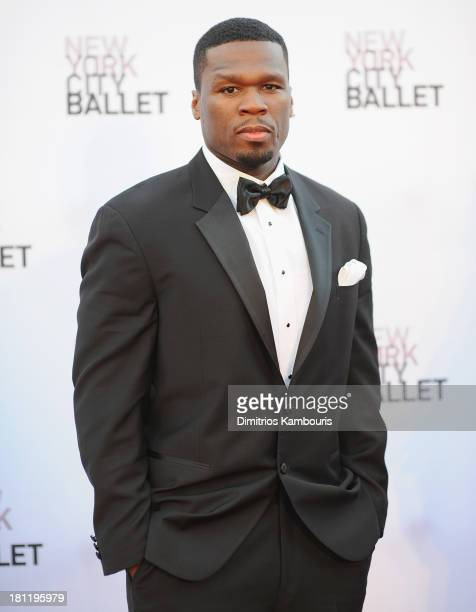 Cent ttends New York City Ballet 2013 Fall Gala at David H Koch Theater Lincoln Center on September 19 2013 in New York City