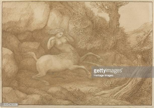 Centaur Woman. Artist Alphonse Legros.