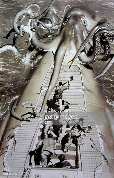 NOTA 'Centenario del pintor Zdenek Burian gran viajero de lo imaginario' Foto de una ilustracion de 1937 del pintor e ilustrador checo Zdenek Burian...