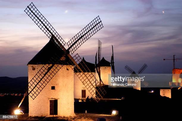IV Centenary of 'El Quijote' by Miguel de Cervantes Route of the Quijote Castile La Mancha Spain The Route of Don Quijote travels the places...
