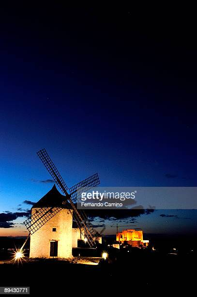 IV Centenary of 'El Quijote' by Miguel de Cervantes Route of the Quijote Castile La Mancha Spain The Route of Don Quijote travels the places...