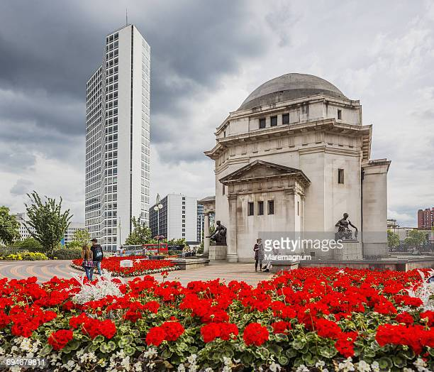 Centenary Square, the Hall of Memory