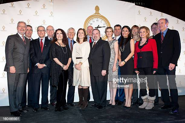 Centennial Committee members and guests including Melissa Manchester Caroline Kennedy Cynthia Nixon Keith Hernandez Liz Cho and US Representative...