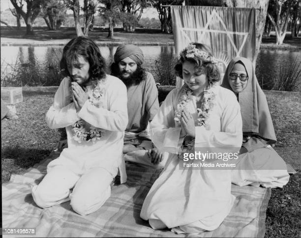 Centennial Park Wedding An openair wedding of two members of the Ananda Marga the controversial Indian religious movement took place in front of the...